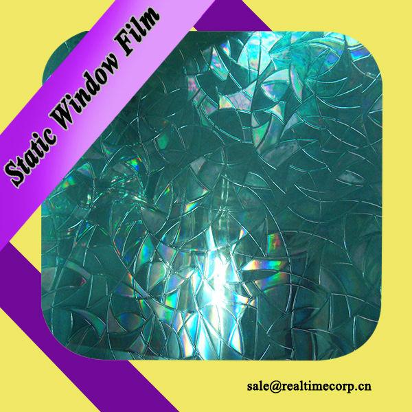 3d static vinyl window foil