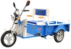 Mini electric three wheel motorcycle