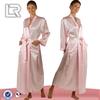 Custom silk robe,Wholesale kimono silk robe,Long silk robe