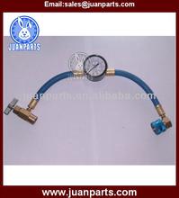 BX1382C-90 r134a hose with gauge