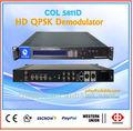 2014 preço de baixo custo de equipamentos de tv digital> hd ird( decodificador receptor integrado) codificador, multiplexer, scrambler, modulador e stb