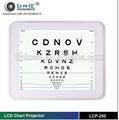 Instrumento oftálmico de alta calidad de los ojos gráfico proyector lcp-200