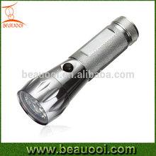 Outdoor emergency lighting aluminum power led flashlight with 17LED 19LED