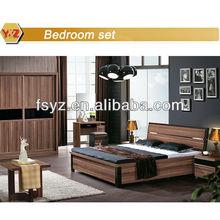 Walnut bad room furniture design/design furniture bedroom set