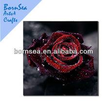Romantic rose oil painting