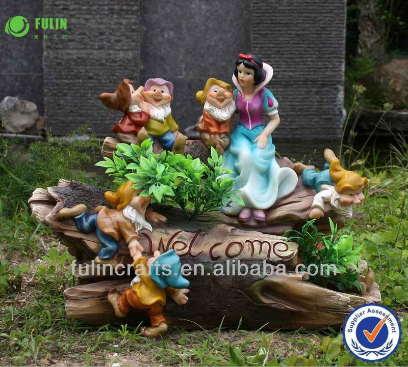 anao de jardim resumo:Snow White and Seven Dwarf Garden