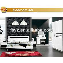 high fashion home furniture/black white furniture bedroom