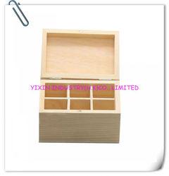 6 Blocks pine wooden essential oil box YIXING3417