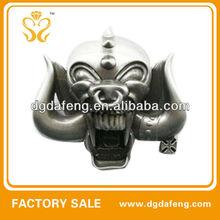 unique decorative zinc alloy engraved personalized buckle