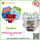 Training Pant Bamboo Material Elastic Closure Baby Traning Pants