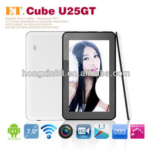 7 inch 1024*600 pixels capacitive android mid tabet pc android4.1 Cube U25GT