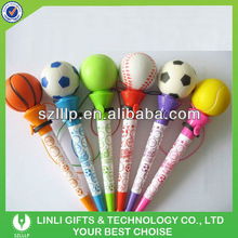 Promotion Pen With Basketball And Lanyard