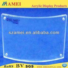 POP baby footprint and handprint/acrylic photo frame/acrylic