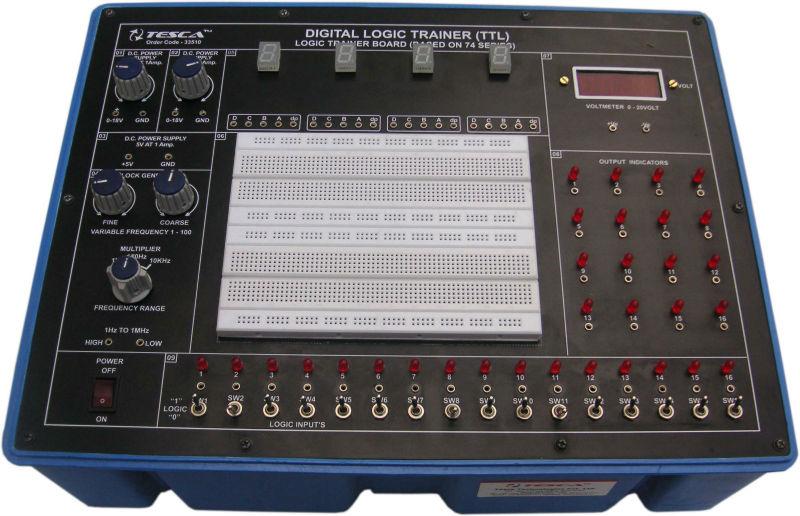Digital de la placa lógica entrenador ( TTL ) / placa lógica entrenador ( a base de 74 Series )