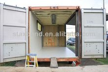 heat and cold insulation steel structure prefabricated modular container house