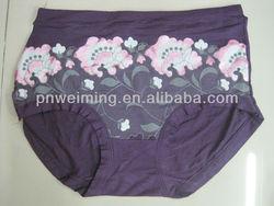 large size women underwear panties