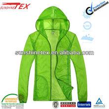 Ladies' ultra thin jacket,uv protective clothing windbreaker(13F080)