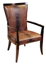 Popular Design MDC-1128 High Back Leather Dining Armchair