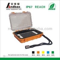 ABS Plastic heavy duty trolley tool case with sponge