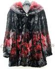 CX-G-A-206B Winter High Quality Women Real Mink Fur Coat