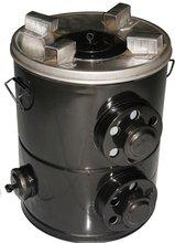 Sans fumée, le granule de biomasse/grain de paume Shell font cuire le fourneau