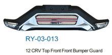 Car accessories for 12 CRV Top Front Front Bumper Guard for Honda CRV