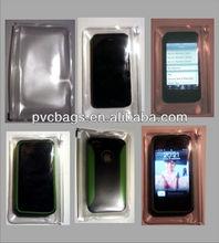 PVC slide zip bag for mobile phone