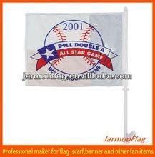 polyester OEM round rock Texas car flag