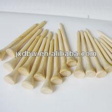 Hotsale Factory Bulk Natural Bamboo Golf Tees