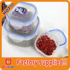 Hot selling promoitonal gift with logo food plastic container