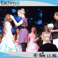 Ceremonia de premiación de la pantalla led de telón de fondo etapa/concurso de belleza/desfile de moda