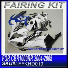 Body kit For HONDA CBR1000RR 2004-2005 WHITE&BLACK FFKHD0019