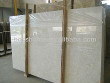 Pretty good qulity cream-colored marble slabs price