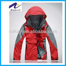 Exterior mujeres del invierno del deporte de la chaqueta