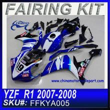 MotorBike Fairings For YAMAHA R1 2007-2008 Spies FFKYA005