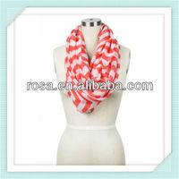 RWK7 Maggie Chevron Circle scarf fashion lady scarf Chevron Scarf