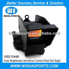 1x22 Airsoft QD Auto Brightness Sensitive Control Mini Red Dot Sight Reflex Scope with QD High Mount, HD-600 w/ QD High Mount