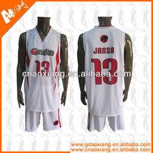 dry fit basketball kit breathable basketball uniform wholesales