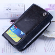 Low price genuine cow leather case for samsung galaxy s4 case China cell phone accessories new product