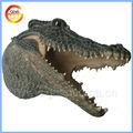 hot vendre tête de crocodile salon de décoration murale pour la décoration maison