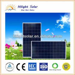 250W, 260W, 270W solar panel price polycrystalline with TUV, IEC, CE, CEC, ISO for 5KW solar system