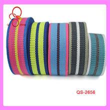 2013 Hot Sale Polyester Elastic Jacquard Stripe Tape