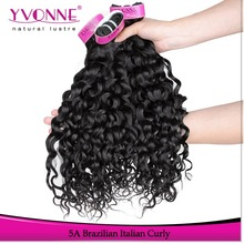 Yvonne hair products 100% unprocessed 5a grade wholesale brazilian hair