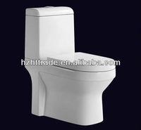 HTTT-AP503 double dual flushing wc 2 piece toilet bathroom ceramic commode