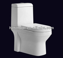 HTTT-AP503 double dual flushing wc 2 piece toilet bathroom ceramic commode