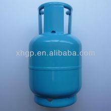 metal empty LPG gas cylinder