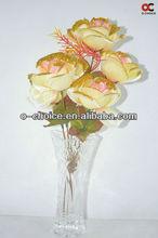 TA-0003 Decorative import from China mini craft silk flowers