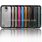 For Samsung I9190 Galaxy S4 mini Android smartphone cover aluminum plus pc polycarbonate body case cover phone accessory