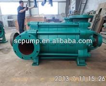 D tpye horizontal multistage centrifugal underground water treatment pump