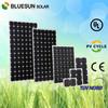 Bluesun TOP quality 600 watt solar panel for PV projects